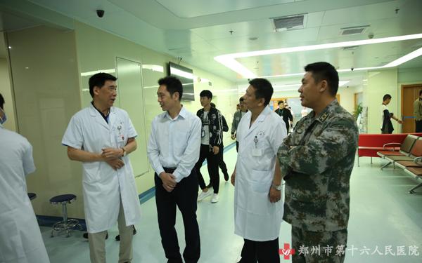 又是一年征兵时我院再度被定为征兵体检定点医院